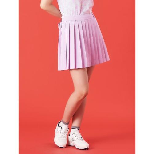 [빈폴골프] 여성 핑크 잔 플리츠 볼주머니 큐롯 (BJ1326A05X)
