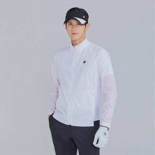 [레노마골프]21SS 남성 져지 배색 바람막이 점퍼 RMJUK2304-101_G