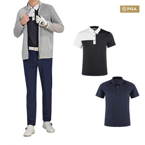 PGA 남성 퍼포먼스 티셔츠1+1 /바지/자켓 택1
