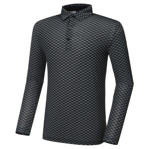 [와이드앵글] 남성 CF W.ICE Y포레스트 패턴 긴팔 티셔츠 M WMM21245Z1