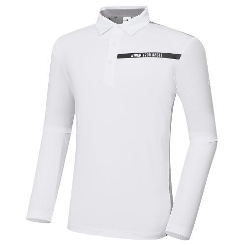 [와이드앵글] 남성 VA 메쉬 여름 긴팔 티셔츠 M WMM21292W2