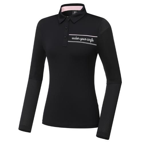 [와이드앵글] 여성 VA 메쉬 여름 긴팔 티셔츠 L WWM21292Z1