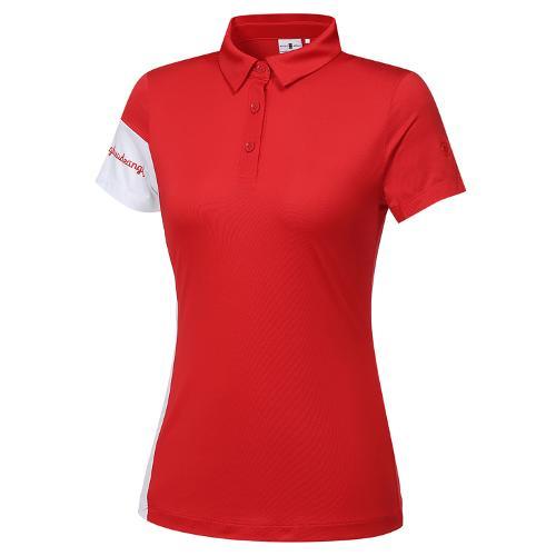 [와이드앵글] 여성 VA 워딩포인트 반팔 티셔츠 L WWM21293R2