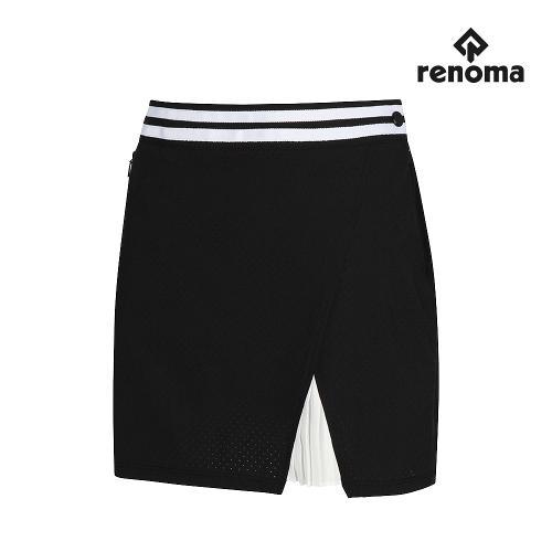 [레노마골프]여성 사선 컬러 주름 큐롯팬츠 RWPCJ6512-199_G