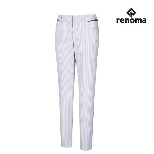 [레노마골프]여성 포켓 변형 줄무늬 팬츠 RWPTJ6502-101_G