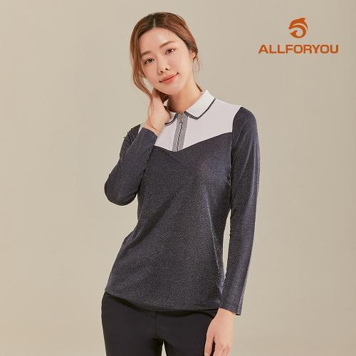 [올포유]21SS 여성 카라 집업 티셔츠 AWTPK2371-915_G