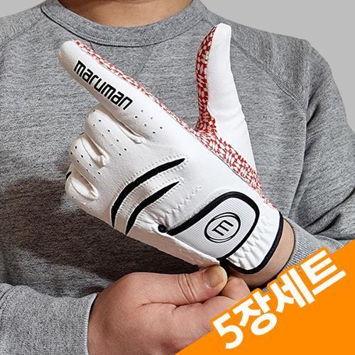 5장세트/마루망 GSB 실리콘 남성 골프장갑-브론즈라벨