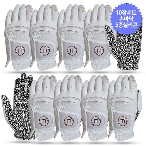 10장세트/마루망 GSB 실리콘 남성 골프장갑-골드라벨