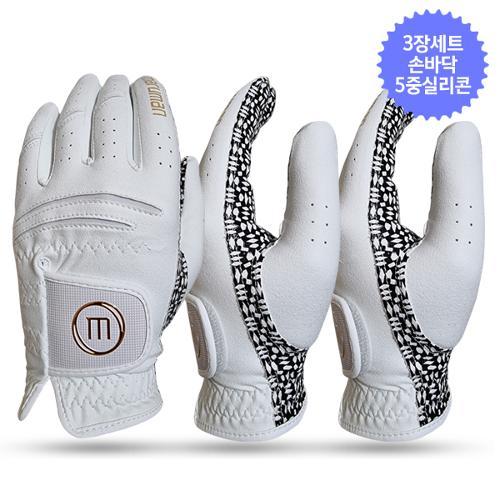 3장세트/마루망 GSB 실리콘 남성용 골프장갑-골드라벨