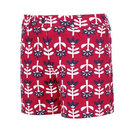 [와이드앵글] 여성 B&L콜라보 패턴 프린트 반바지 WWM16338P8