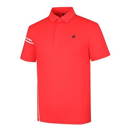 [레노마골프]21SS 남성 웰딩프린트 포인트 카라 반팔 티셔츠 RMTYK2105-500_G