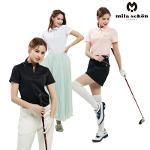[밀라숀] 여성 클래식 카라 티셔츠 4종 MS20WJSWTS