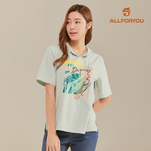 [올포유]21SS 여성 반팔 후드 티셔츠 ALTRK3211-830_G