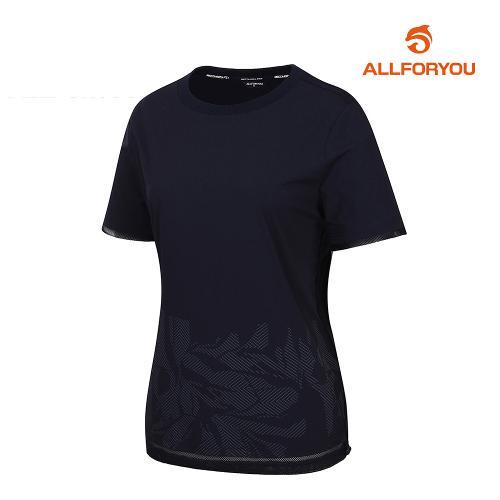 [올포유]여성 웜업 반팔 티셔츠 AWWJJ6326-915_G