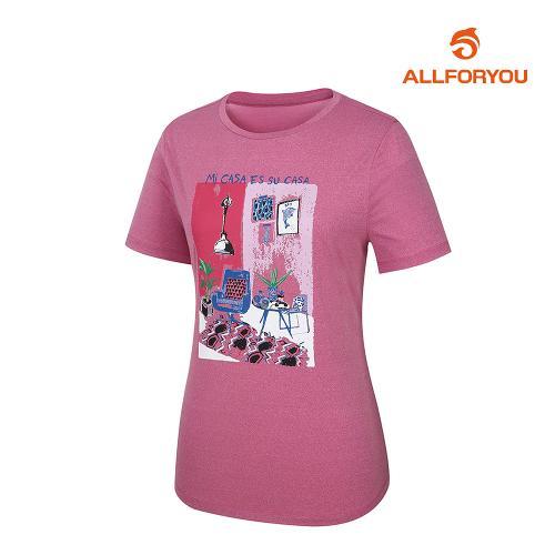[올포유]여성 라운드 반팔 티셔츠 AWTRJ6151-403_G