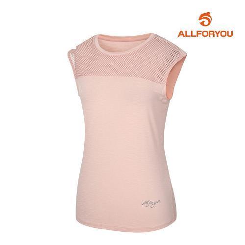 [올포유]여성 절개 민소매 티셔츠 AWTSJ6160-411_G