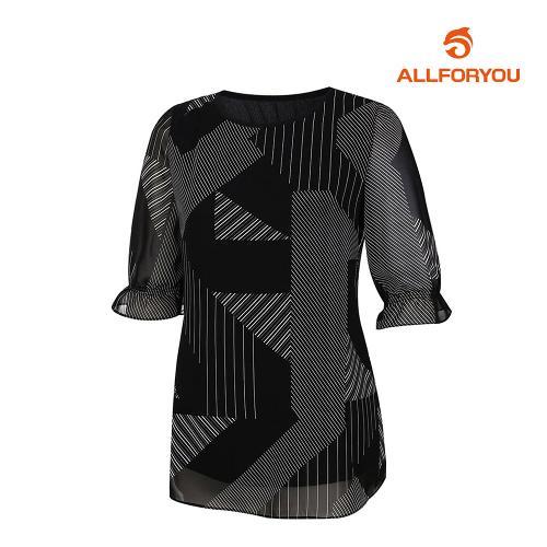 [올포유]여성 기하학 티셔츠 AWTRJ6165-199_G