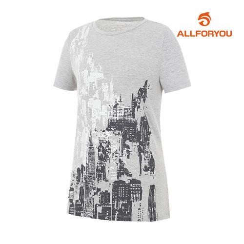 [올포유]여성 모던 반팔 티셔츠 AWQTH6192-190_G