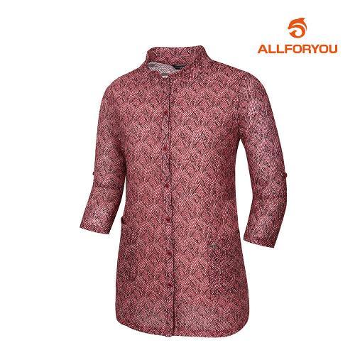 [올포유]여성 양포켓 단추 티셔츠 AWTYJ6166-415_G