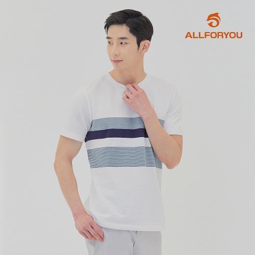 [올포유]21SS 남성 라인 반팔 티셔츠 AGTRK3431-100_G