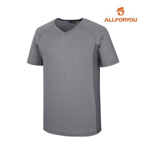 [올포유]남성 웜업 브이넥 티셔츠 AMWJJ2322-196_G