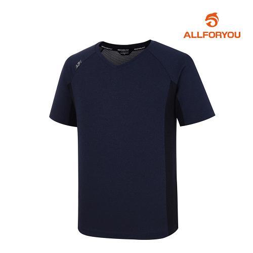 [올포유]남성 웜업 브이넥 티셔츠 AMWJJ2322-915_G