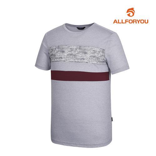 [올포유]남성 배색 반팔 티셔츠 AMTRH2R57-190_G