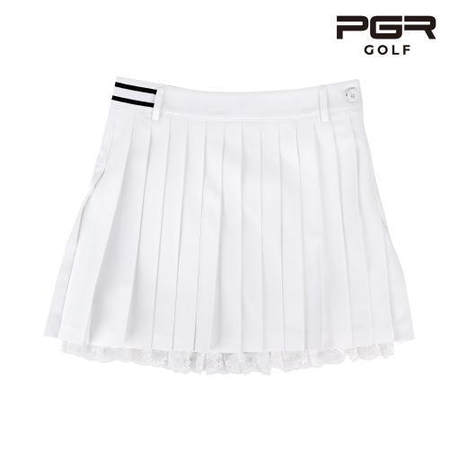 PGR GS-158 여성 골프 레이스 큐롯 스커트 플리츠 치마