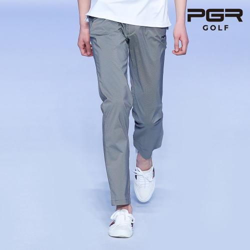 PGR GP-1079 남성 체크패턴 골프바지 남자팬츠 기능성