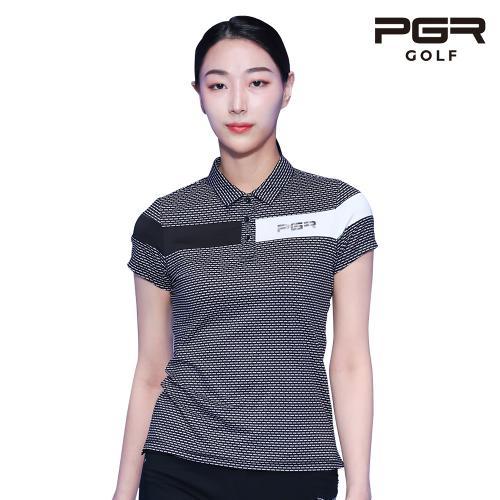 PGR GT-4291 여성골프 가슴포인트 반팔티셔츠 골프복