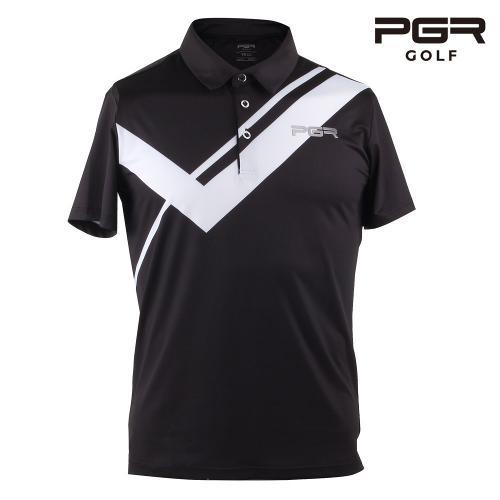 PGR GT-3294 남성골프 가슴포인트 반팔티셔츠 골프복
