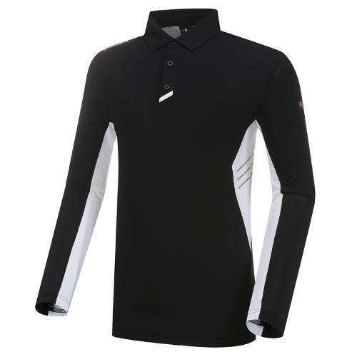 [와이드앵글] 남성 WL W.ICE 퍼포먼스 긴팔 티셔츠 M WMM21210Z1