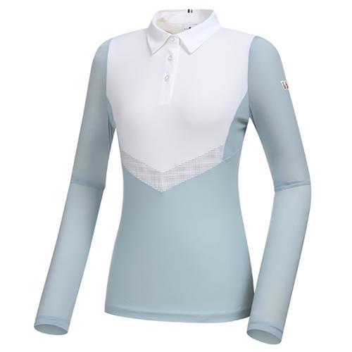 [와이드앵글] 여성 WL 엔젤 W.ICE 긴팔 티셔츠 L WWM21209B1