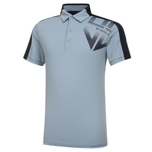 [와이드앵글] 남성 HSS 리버스 반팔 티셔츠 M WMM21217B1