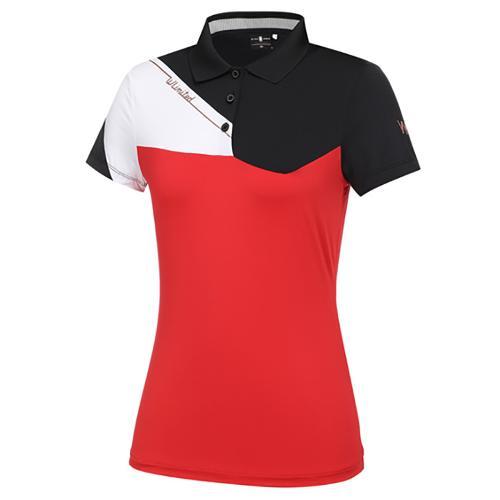 [와이드앵글] 여성 WL 아이스카라 반팔 티셔츠 L WWM21212R2