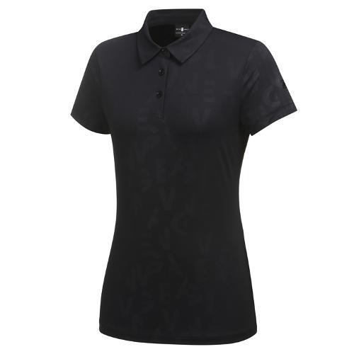 [와이드앵글] 여성 CF 워딩 엠보프린트 반팔티셔츠 L WWM21250Z1