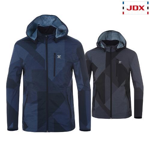 JDX 남성 여름 전판패턴 바람막이 2종택1 X3QMWBM01