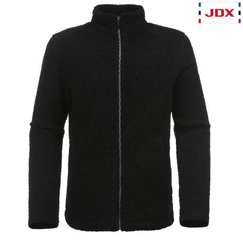 JDX 남성 와펜포인트 덤블 플리스 자켓 X1RSWJM01BK