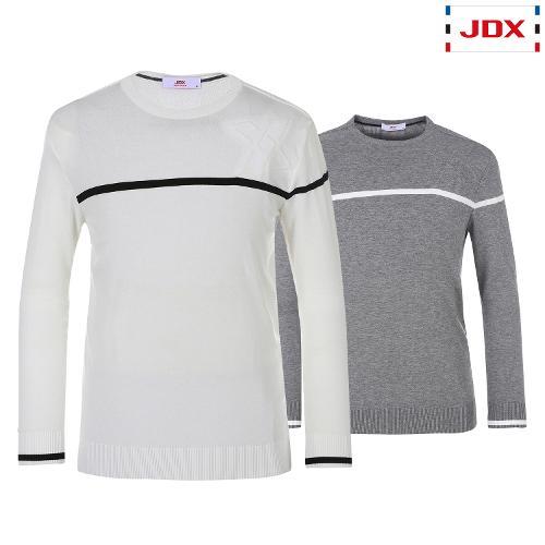 JDX 남성 골조직포인트스웨터 2종 택1 X1QSSPM01
