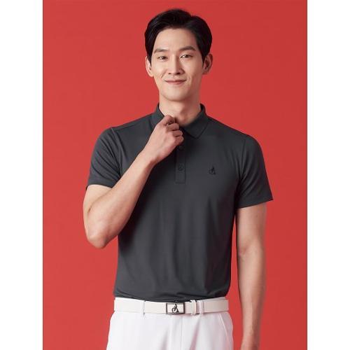 [빈폴골프] 남성 애쉬 에센셜 솔리드 칼라 티셔츠 (BJ1342OB24)