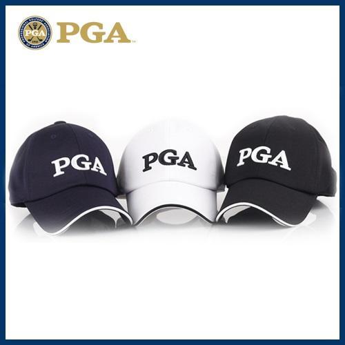 PGA 남성샌드위치 육각캡 골프모자[PG0MCP01]-3종칼라