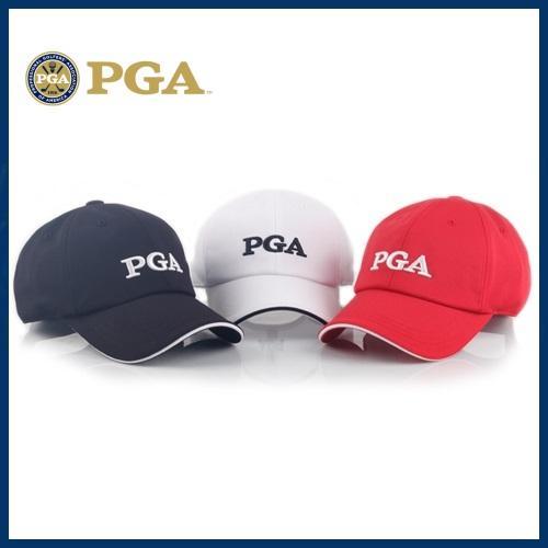 PGA 여성샌드위치볼륨자수캡[PG0LCP51]-3종칼라
