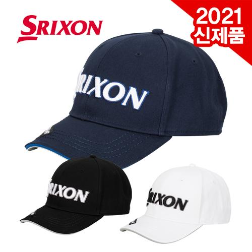[2021년신제품]던롭 스릭슨 GAH-20040I 면100% 투어캡 골프캡 모자