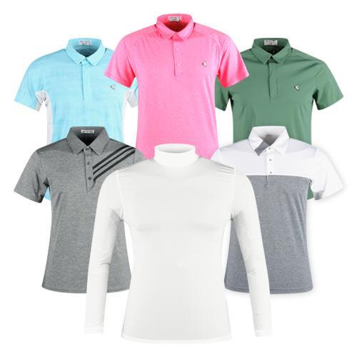 시원한 여름을 위한 남성 골프셔츠 모음