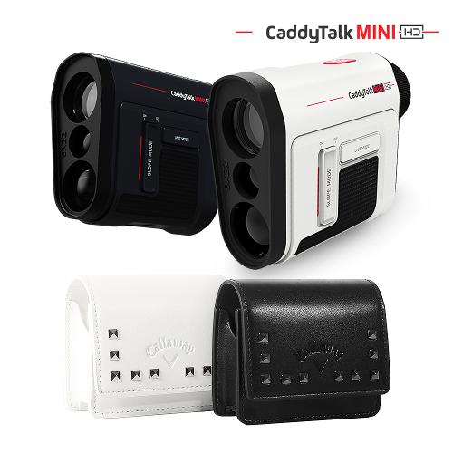 [캐디톡] 21년 신제품 골프 레이저 거리측정기 미니 HD (캘러웨이 파우치 증정)