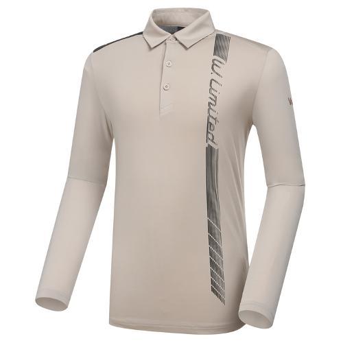 [와이드앵글] 남성 WL W.ICE 트리니티 버티컬 긴팔 티셔츠 M WMM21207E2