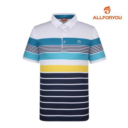 [올포유]남성 메쉬 카라 반팔 티셔츠 AMTYI2109-100_G