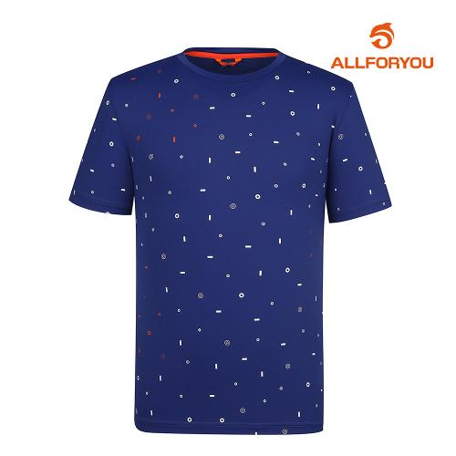 [올포유]남성 전판 패턴 반팔 티셔츠 AMTRH2124-915_G