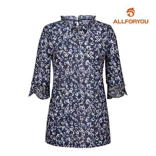 [올포유]여성 블라우스 프릴 티셔츠 AWTRJ6169-915_G
