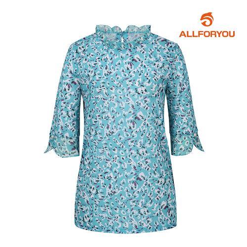 [올포유]여성 블라우스 프릴 티셔츠 AWTRJ6169-830_G